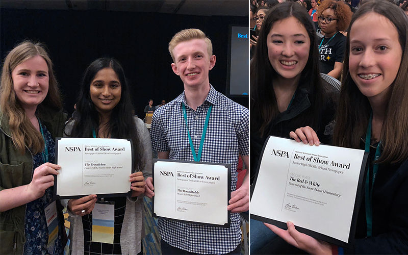 Students Win National Journalism Awards