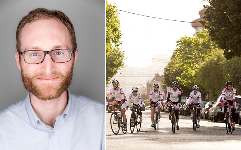The Right Balance: Alumnus Succeeds in Tech and Cycling