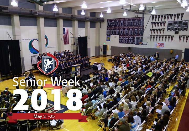 Senior Week Celebration Precedes Graduation for Class of 2018