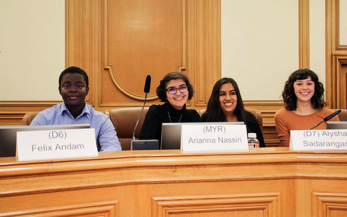 Convent Junior Takes the Lead on Youth Issues in San Francisco