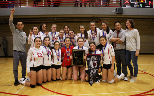 Convent Celebrates its First NCS Volleyball Championship