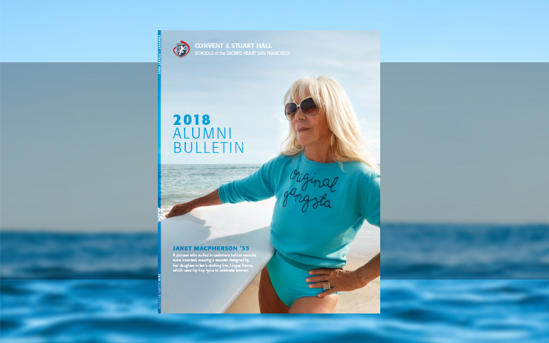 New Look: Alumni Bulletin Available Online