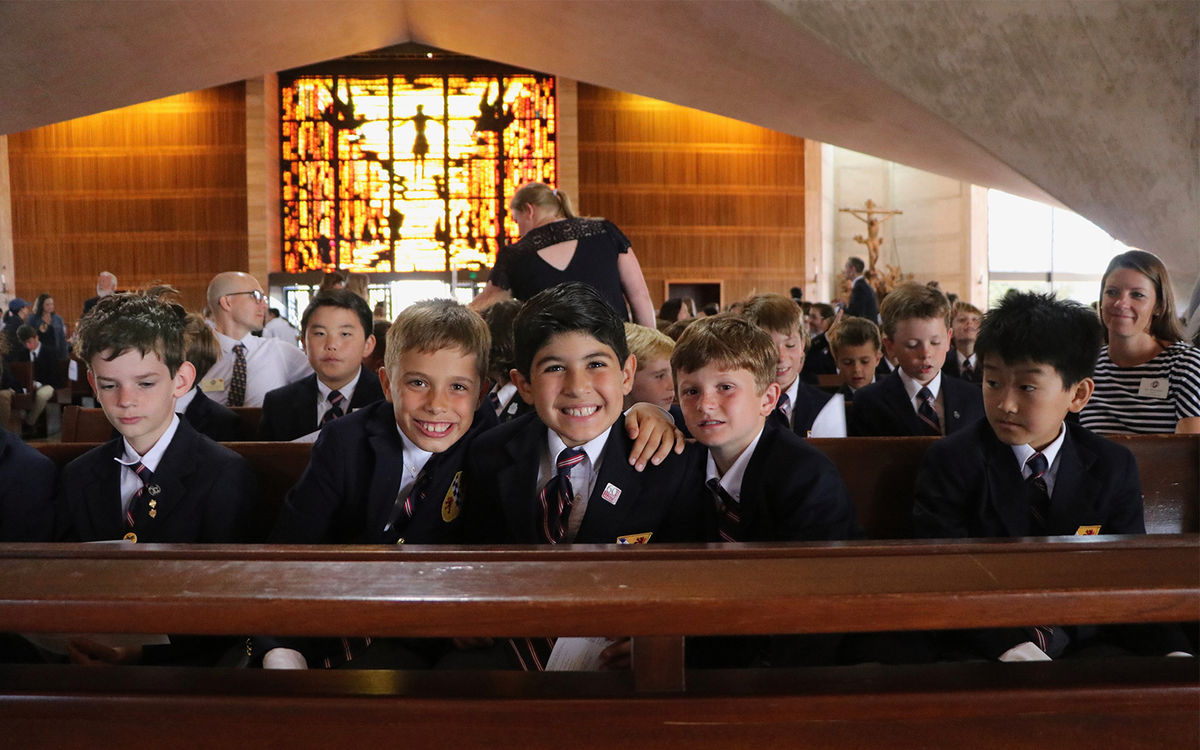 Community Celebrates New School Year with Mass of the Holy Spirit