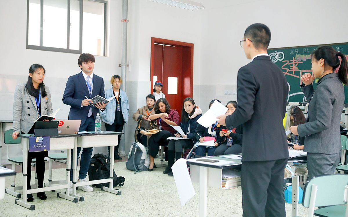 Mandarin Students Impress in China