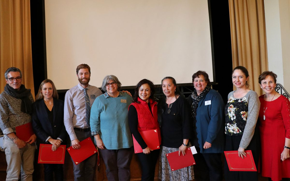 Faculty and Staff Honored for Achievements
