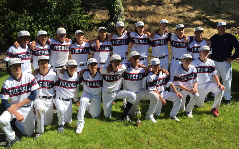 Photo of Stuart Hall High School Baseball Team